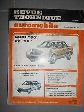 Audi 80 et 90 1.8S 1.8E 2.0E 2.2E : revue technique RTA 489