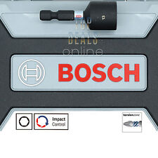 """NEW 2017 Bosch 13mm Magnetic Nut Driver 50mm x1 Torsion Impact Control Hex 1/4"""""""