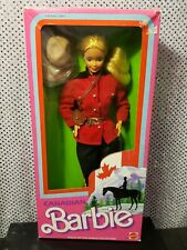 1987 FIRST EDITION CANADIAN BARBIE DOTW DOLLS OF THE WORLD MATTEL 4928 NRFB