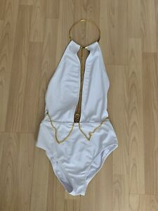 Swimsuit, Beach Wear, Size 10, White, New With Tags