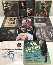 Lot of 11 Old Thriller/Horror Laserdisc Movies