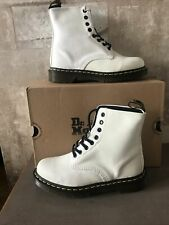Dr Martens Glitter White Boots UK Size 6