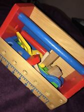 Melissa & Doug Children's Toy Tool Box