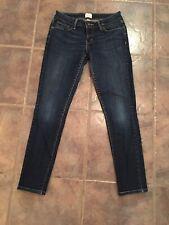 Levi's Demi Curve Skinny Womens Size 0 / 25 Stretch Blue Dark Wash Slim Jeans