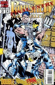 Punisher War Journal #72 VF 1994 Stock Image