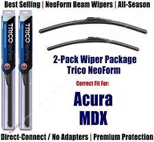 Wipers 2-Pack Premium Beam Wiper Blades - fit 2007-2013 Acura MDX - 16260/210