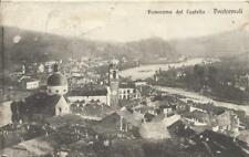 "CARTOLINA VIAGGIATA ( 1917)_ "" PANORAMA DAL CASTELLO - PONTREMOLI""_ED. G. SAVANI"