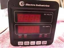Electro Industries Digital DC Amp And Volt Meter