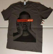 Bryan Adams Get Up Tour Gray T Shirt  New Official XL Extra Large