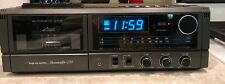 Vintage Realistic Chronosette 256 Alarm AM/FM Clock Radio Cassette Deck Player