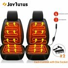 2 x 12V Heated Car Seat Cushion Heating Warmer Chair Cover Pad Winter Universal