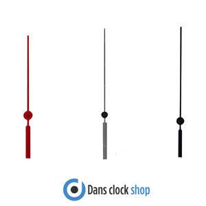 New Replacement Quartz UTS Metal Second Hands - Colour Choice  - Sizes 30-125mm
