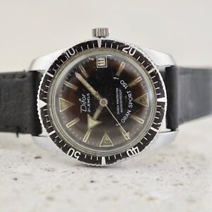 DIFOR stainless steel Vintage 1960s Gran Sport 150 Diver/Submariners mens watch