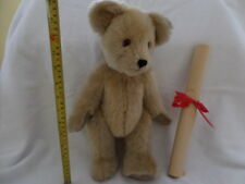 Edward - Hand Made in England - Christopher Robin's (Pooh) Teddy Bear w certif