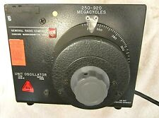 250-920 MHz Oscillator-- with Manual   General Radio Type 1209-B