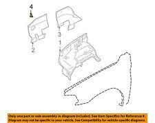 MITSUBISHI OEM 97-04 Montero Sport Fender-Splash Shield Clip MB115492