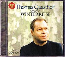 Thomas QUASTHOFF: SCHUBERT: WINTERREISE Charles SPENCER RCA CD Charles Spencer