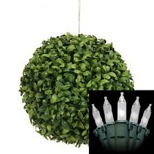 6 Artificial In Outdoor Boxwood Ball Topiary Bushtree Holiday Lights Christmas