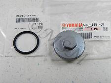 83-85 YAMAHA YTM225DX TRI-MOTO NEW GENUINE OEM OIL DRAIN PLUG CAP & O-RING Y5H0