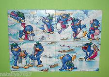 PUZZLE SUPERPUZZLE PEPPY PINGOS 1992 KOMPLETT 100% ORIGINAL=TOP!!!