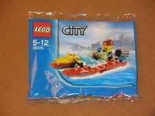 Spielzeug Lego City 30220 Polybag Feuerwehr Boot Speedboat *Neu Ovp ungeöffnet*