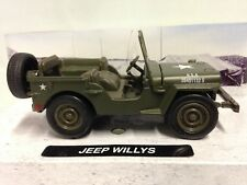 Jeep Willys Diecast 1:32 WWII Military U.S. Army Vehicle New Ray Toys