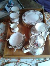 "**Royal Albert ""Cottage Garden""> Kaffeeservice **6 Personen Bone China England**"