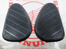 Honda S90 CS90 Fuel Tank Knee Grip Rubber Cover L/R Pair New