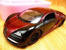 3D Sports Car Silicone Fondant Mould Chocolate Sugarcraft Mold Baking Tool DIY