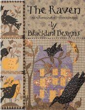 Quilt Pattern Book ~ THE RAVEN  ~ by Blackbird Designs