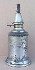 Ancienne lampe PIGEON lampe à essence minérale déco XIX old gas lamp #1