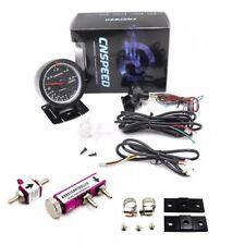 60mm Pointer Turbo Boost Gauge Vacuum Press Meter + Adjustable Boost Controller