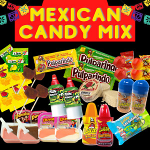 Mexican Candy Mix Variety mix (25 Count) El Mejor Dulce Mexicano