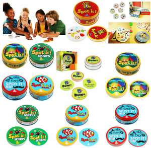 Game Dobble Card Fast Perception Visual Fun Spot It Family Party Camping