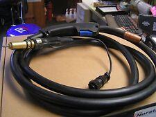 Replacement mig welding gun 150 Amp 10-ft M-100/M-10 Miller backend