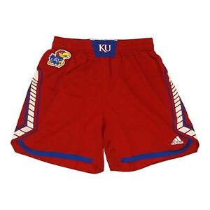 Kansas Jayhawks NCAA Adidas Women's Red Uniform Shorts