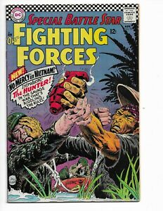 OUR FIGHTING FORCES 99 - F+ 6.5 - 1ST CAPTAIN HUNTER - BATTLING NAZIS (1966)