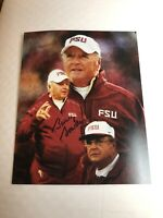 BOBBY BOWDEN FLOIRDA STATE SEMINOLES SIGNED AUTOGRAPHED 8X10 PHOTO 94 CHAMPS 4