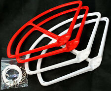 "9"" Propeller Prop Protector Guard for DJI Phantom 1 2 3 Vision+ FC40 Red White"