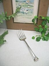 International Silver American Somerset 1914 Silverplate Cold Meat Serving Fork
