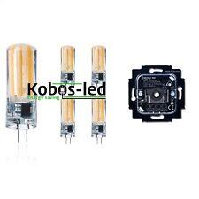 G4 LED 220V Warmweiß kerze dimmbar 5W=40W leuchtmittel,COB,Drehdimmer 2-100W