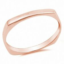 3mm Fashion Band Ring 925 Sterling Silver Choose Color