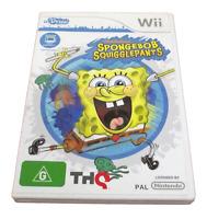 U Draw Spongebob Squigglepants Nintendo Wii PAL *Complete* Wii U Compatible