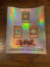 Old 1996 Yu-Gi-Oh Shonen Jump Legendary Collection 3-Ring Card Binder