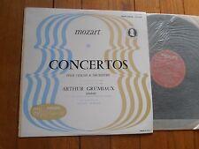 MOZART / A.GRUMIAUX violin-R.MORALT cond. LP PHILIPS Minigroove A00.199L EX
