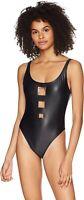 Body Glove Women's 236830 Joyride High Cut Cheeky One Piece Swimsuit Size S