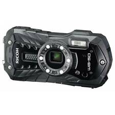 Ricoh Pentax WG-50 Black Camera Digital Waterproof
