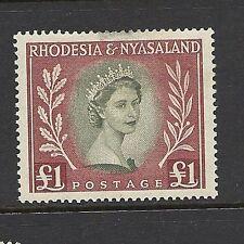 Elizabeth II Mint Hinged Rhodesia Stamps (Pre-1965)