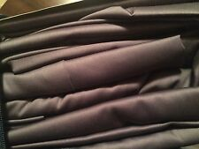 Free Ship Ralph Lauren QUEEN 4pc Sheet Set Dunham Sateen Charcoal Gray Dark Grey