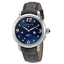 Aerowatch Renaissance Navy Blue Dial Dial Ladies Watch A 43938 AA10